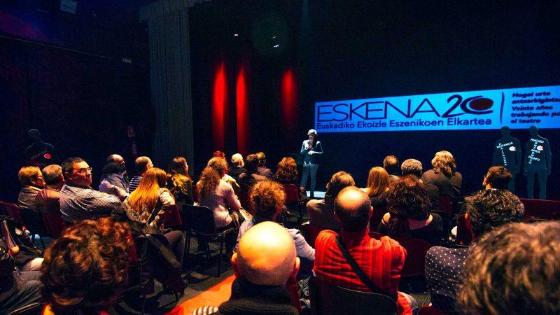 20 años apostando por el teatro vasco