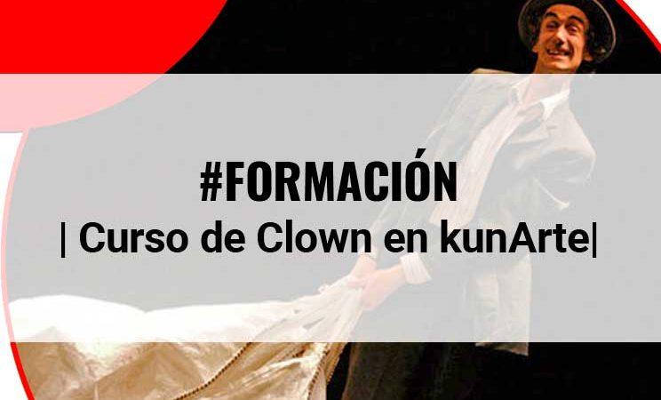 Curso de clown impartido por César Sarachu en Kunarte (Vitoria)
