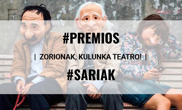 Kulunka teatroak RNEko 'El Ojo Crítico' saria irabazi dute
