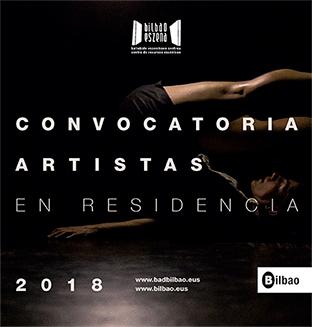 """PROGRAMA DE APOYO A LA CREACIÓN ESCÉNICA """"ARTISTAS EN RESIDENCIA 2018"""""""