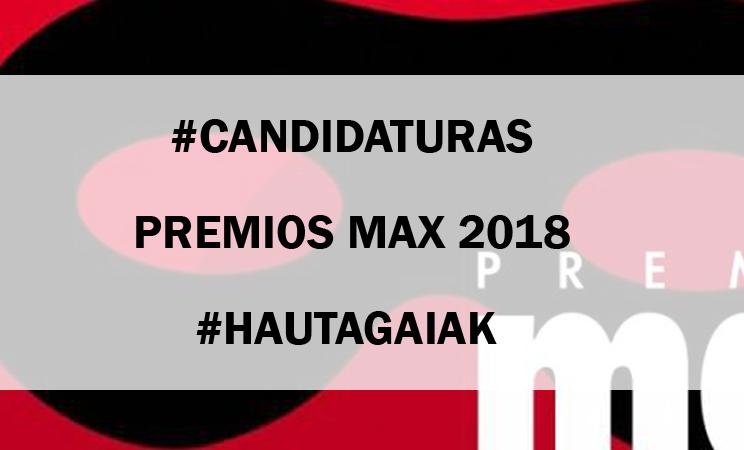 FINALISTAS DE LOS PREMIOS MAX