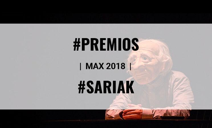 KULUNKA Y ADOLFO FERNÁNDEZ DE K PRODUCCIONES PREMIADOS EN LOS MAX 2018