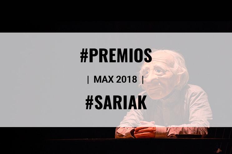 PREMIOS MAX 2018