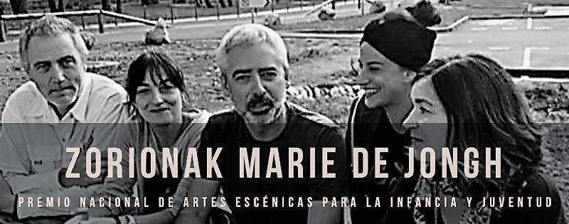 PREMIO NACIONAL DE ARTES ESCÉNICAS PARA INFANCIA Y JUVENTUD 2018