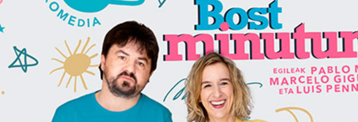 Txalo Produkzioak estrenará en el Teatro Principal de San Sebastian 'Bost Minutun' el 12 de agosto